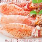 (毛ガニ ポーション 最高級)毛蟹 ポーション 500g 20本前後(かにしゃぶ 北海道 送料無料)