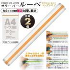 共栄プラスチック カラーバールーペ21cmイエロー(イエロー)