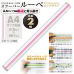 共栄プラスチック カラーバールーペ30cmピンク(ピンク)