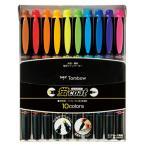 トンボ鉛筆 蛍光ペン 蛍コート 10色セット ツイン インキ補充式