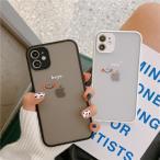 iPhone12 ケース iPhone12 mini ケース iPhone12ProMax ケース アイフォン12 ケース カバー 韓国 おしゃれ ペア ギフト ニコちゃん スマイル クリア 半透明