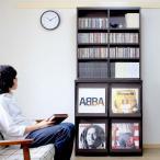 【2月中旬入荷】ディスプレイラック ディスプレーラック 4マス ブックシェルフ 本棚 CD収納 レコードラック レコード収納 レコード棚 LP収納