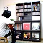 【3月下旬入荷】レコード収納棚 レコードケース レコードラック ディスプレーラック ディスプレイラック 6マス ブックシェルフ 本棚 LP収納
