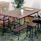 ダイニングテーブル テーブル 食卓テーブル 天然木 枯木 古木 アンティーク ヴィンテージ ビンテージ カフェ