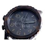 ニクソン NIXON 51-30 CHRONO メンズ腕時計  A083-1061 TORTOISE  メンズ腕時計
