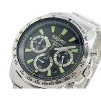 セイコー SEIKO クロノグラフ メンズ腕時計  SSB027P1  メンズ腕時計