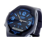 カシオ CASIO スタンダード アナデジ メンズ腕時計  AW-90H-2B  メンズ腕時計