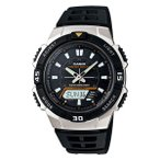 カシオ CASIO アナログ×デジタル ソーラー メンズ腕時計  AQS800W-1E  メンズ腕時計
