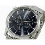 トミー ヒルフィガー メンズ腕時計   1790877 ブラック×シルバー  メンズ腕時計