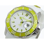 アバランチ AVALANCHE メンズ腕時計  AV-1022S-LMGR ライムグリーン×ホワイト  メンズ腕時計
