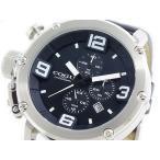 コグ COGU クオーツ クロノ  メンズ腕時計  C61-BK  メンズ腕時計