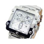 ドルチェメディオ DOLCE MEDIO クオーツ   クロノ メンズ腕時計  DM8018-WHBR  メンズ腕時計