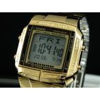 カシオ CASIO データバンク DATA BANK メンズ腕時計  ゴールド DB360G-9A  メンズ腕時計
