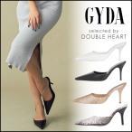 ジェイダ GYDA 4月下旬予約 Newポインテッドミュール レディース シューズ 靴 ミュール ヒール ピンヒール シンプル フェイクレザー ポインテッドトゥ