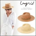 ungrid アングリッド ポークパイHAT ハット 帽子 レディース 夏 中折れ つば広 麦わら 111621018101