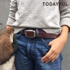 TODAYFUL トゥデイフル LIFE's ライフズ 通販 Vintage Leather Belt ヴィンテージレザーベルト レディース ベルト 革 トゥデイフル 通販 吉田怜香