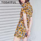 ショッピングコンビネゾン TODAYFUL トゥデイフル LIFE's ライフズ 通販 Flower Shirts Combinaison フラワーシャツコンビネゾン レディース 花柄 オールインワン