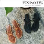 TODAYFUL トゥデイフル LIFE's ライフズ 通販 7月下旬予約 Flat Sandals フラット サンダル フラットサンダル ペタンコ 靴 レディース 吉田怜香 11711080