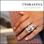 TODAYFUL トゥデイフル LIFE's ライフズ 通販 11月下旬予約 Voluminos Wide Ring ボリュームワイドリング レディース アクセサリー リング 指輪