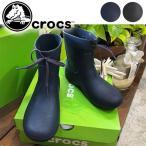 クロックス crocs Crocs Freesail Shorty Rain Boots レインブーツ レディース ショート 長靴 長ぐつ レインシューズ 靴 シューズ ショート丈 リボン 203851