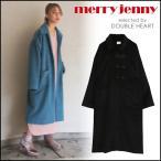 merry jenny メリージェニー チャイナボタンコート レディース アウター コート ステンカラー ステンカラーコート ロング ロング丈 ボタン
