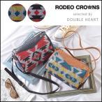 ロデオクラウンズ RODEO CROWNS ORTEGA SHOULDER オルテガ柄 バッグ ショルダーバッグ レディース 斜め ミニ 軽い 小さめ c06905103