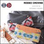 ロデオクラウンズ RODEO CROWNS ORTEGA ROUND LONG WALLET オルテガ柄 財布 長財布 ブランド レディース ラウンドファスナー カジュアル c06905201