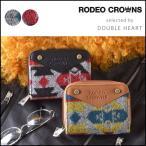 ロデオクラウンズ RODEO CROWNS ORTEGA ROUND SHORT WALLET オルテガ柄 二つ折り かわいい レディース ブランド ラウンドファスナー カジュアル c06905202