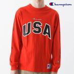 チャンピオン Champion 通販 ロングスリーブTシャツ レディース メンズ トップス Tシャツ 長袖 スポーツ ユニセックス ロゴ 刺繍 メッシュ 18fw 新作