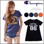 チャンピオン Champion ウィメンズ TUNIC T-SHIRT レディース Tシャツ チュニック クルーネック ロゴ カジュアル フェス CW9K302