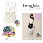 ハニーサロン Honey Salon 美少女戦士セーラームーンルナ/アルテミスファーリュック レディース バッグ 鞄 リュック ファー 猫 セーラームーン
