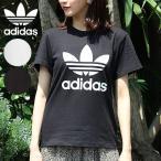 アディダスオリジナルス adidas originals 通販 TREFOIL TEE レディース トップス Tシャツ 半袖 カットソー クルーネック オーバーサイズ トレフォイル ロゴ