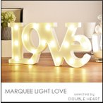 インテリア 雑貨 インテリア雑貨 ライト 照明 おしゃれ 安い MARQUEE LIGHT LOVE マーキーライト LOVE 間接照明 結婚式 パーティー プレゼント