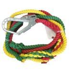 三色介錯ロープ 逆サツマ加工 12MMX5M