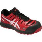 アシックス 安全靴 ウィンジョブ  CP103 <FCP103-2301> 24.5cm レッド×ホワイト