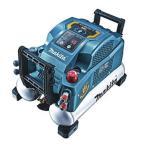 マキタ エアコンプレッサ タンク容量/8L、エア量/368L 青 AC461X