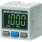 SMC 2色表示式 高精度デジタル圧力スイッチ(正圧用) ISE30A-01-N-MLA1 (419-3571) 《切替弁》