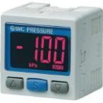 【送料無料】 SMC 2色表示式 高精度デジタル圧力スイッチ(真空用) ZSE30A-01-N-MLA1 (419-4519) 《切替弁》