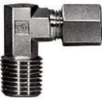 SMC くい込み管継手 エルボユニオン 12mm・1/2 DL12-04 (482-2196) 《チューブ継手》