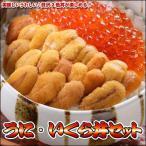 うに いくら 海鮮丼セット 送料無料 沖縄は送料別途加算