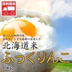 北海道産 ふっくりんこ5kg 北海道米 ふっくりんこ おためし 送料無料沖縄は送料別途加算