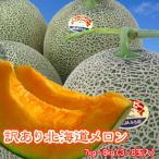赤肉メロン 訳あり 北海道産 7.5kg-8kg 送料無料 沖縄は送料別途加算