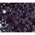 高品質ダイヤカットストーン ブラック