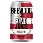 ビール ブリュードッグ エルビスジュース (缶) グレープフルーツ IPA ビール 6.5% 330ml beer