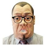 あすつく  野性爆弾くっきー 公式マスク  なりきりマスク 宴会 仮装 かぶりもの ネタ OGWEV06274 お笑い芸人 被り物 話題の人 コスプレ メガネ付き