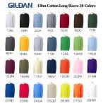 ギルダン  /  GILDAN  /  6oz ウルトラコットン ロングスリーブTシャツ 全28色(No.21�No.28) GILD-T2400