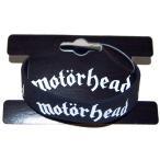 モーターヘッド リストバンド   MOTORHEAD   LOGO RUBBER BRACELET オフィシャル ラバーバンド ラバーブレスレット