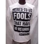 ニュー ファウンド グローリー NEW FOUND GLORY   FOOLS バンドTシャツ