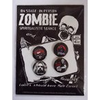 ROB ZOMBIE   WHITE ZOMBIE   ロブ ゾンビ 4 PIECE BUTTON バッジ PACK
