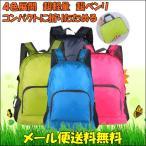 折りたたみ リュック サック ポケッタブル バッグ 軽量 収納可 折り畳み かばん エコバック 簡易バッグ 携帯リュック